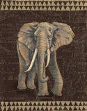 Grand Elephant Traveller Art Print