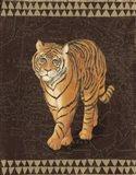 Grand Tiger Traveller Art Print