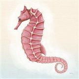 Boardwalk Seahorse Art Print