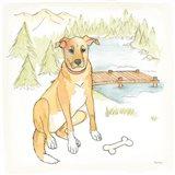 Dog Days of Summer Finley Art Print