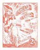 Cuba Stamp XXI Bright Art Print