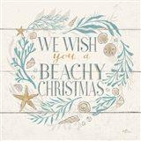Golden Sea VI Holiday Art Print
