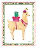 La La Llama I Art Print
