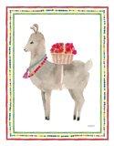 La La Llama II Art Print