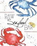 Seafood Shanty II Art Print