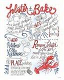 Seafood Shanty V Art Print