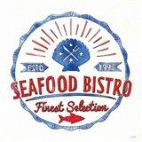 Seafood Shanty VII Art Print