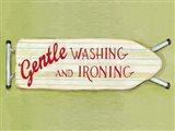 Gentle Wash v2 Art Print