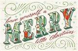 Holiday Joy I Art Print