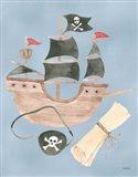 Pirates IV Art Print
