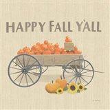 Heartland Harvest Moments IV Happy Fall Art Print