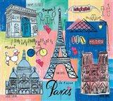 Global Travel II Art Print
