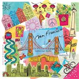 Global Travel XI Art Print