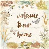 Woodland Wreath VI Home Art Print