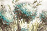 Hydrangea Field Neutral Art Print