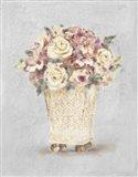 Parlor Roses I Sage Art Print