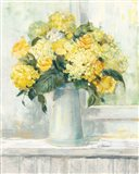 Endless Summer Bouquet I Yellow Art Print