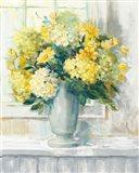 Endless Summer Bouquet II Yellow Art Print
