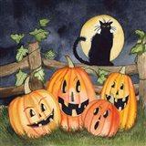 Haunting Halloween Night I No Border Art Print