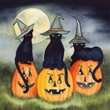 Haunting Halloween Night II No Border Art Print