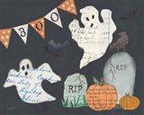 Halloween Whimsy III Art Print