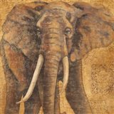Grand Elephant Art Print