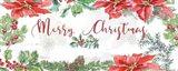 Farmhouse Holidays Merry Christmas Art Print