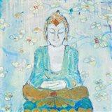 Buddha Square Art Print