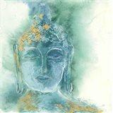 Gilded Buddha I Art Print