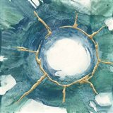 Dharma Wheel I Art Print