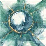 Dharma Wheel II Art Print