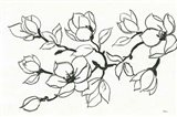 Flower Drawing Art Print