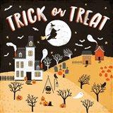 Spooky Village III Art Print