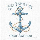 Nautical Life IV No Stripes Art Print