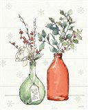 Modern Farmhouse III Christmas Art Print
