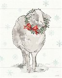 Modern Farmhouse XI Christmas Art Print