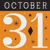 Festive Fright October 31 II Art Print