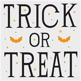 Festive Fright Trick or Treat II Art Print