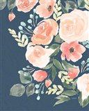 Blooming Delight II Sage Art Print