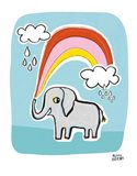 Wild About You Elephant Art Print