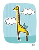Wild About You Giraffe Art Print