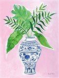 Elegant Chinoiserie I Art Print
