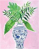 Elegant Chinoiserie I Crop Art Print