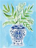 Elegant Chinoiserie II Art Print