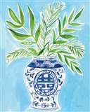 Elegant Chinoiserie II Crop Art Print