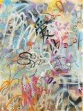 Graffiti Love Art Print