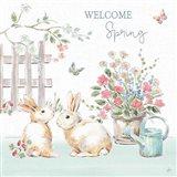 Springtime V Art Print