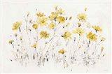Wildflowers I Bright Yellow Art Print
