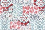 Bazaar Patchwork I Art Print