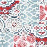 Bazaar Patchwork II Art Print